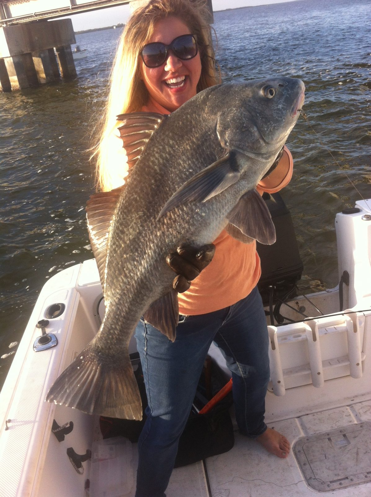 Kelly page 27 titusvillethis drum was caught under the for Murphy s hook house fishing report