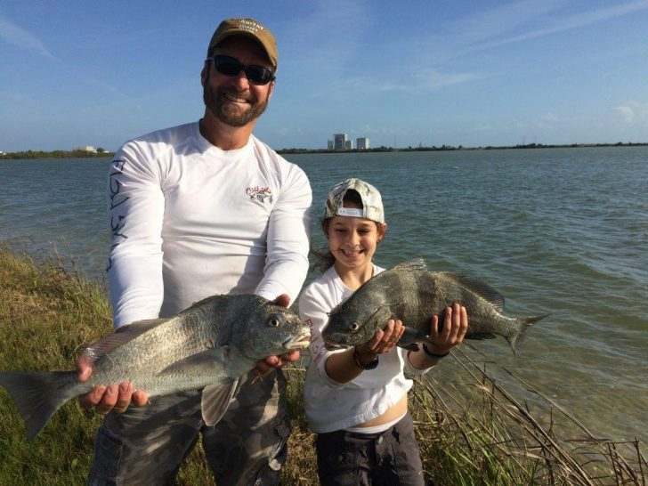 Mike and haylie miller fishing in the banana river itl for Banana river fishing