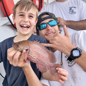 Even little groupers produce big smiles.