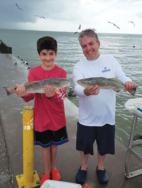 Galveston bay fishing report coastal angler the angler for Galveston fishing reports