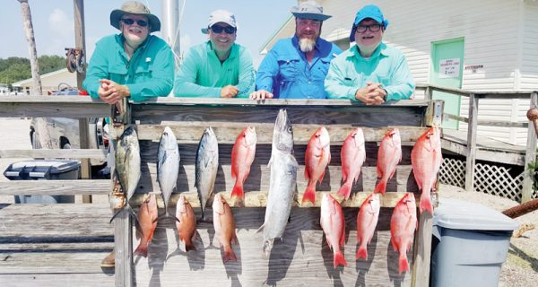 Great day aboard the Kitchen Pass Dive & Fishing Charters.