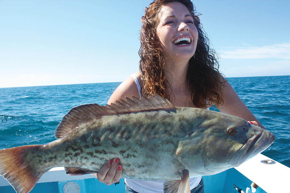 Gag grouper season underway in the gulf coastal angler for Florida gulf coast fishing charters