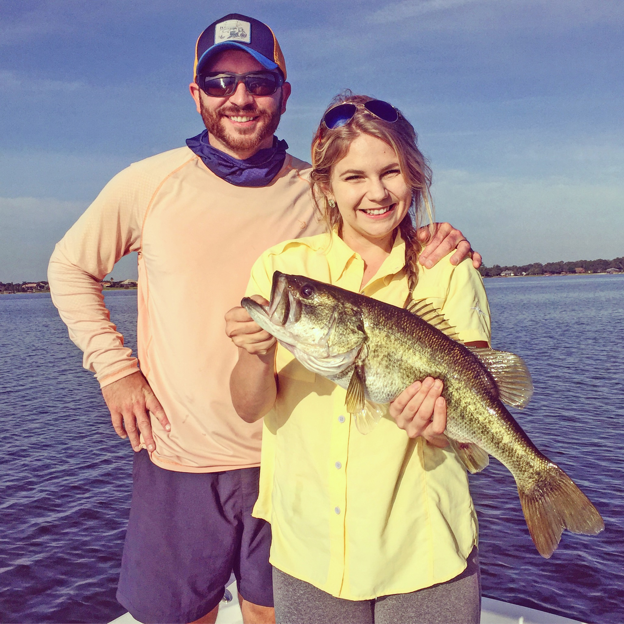 Lakeland Central Florida Fishing Report July 2017