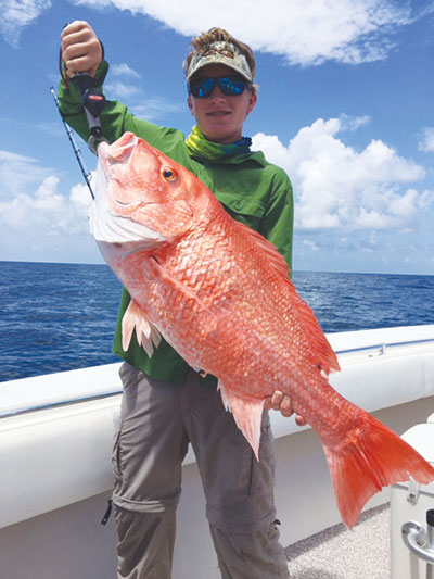 Matagorda offshore fishing report coastal angler the for Matagorda fishing guides