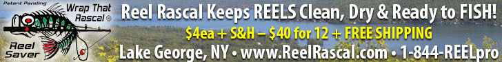 Reel Rascal - REEL Protection from Rain, Dust, Sap, Bugs