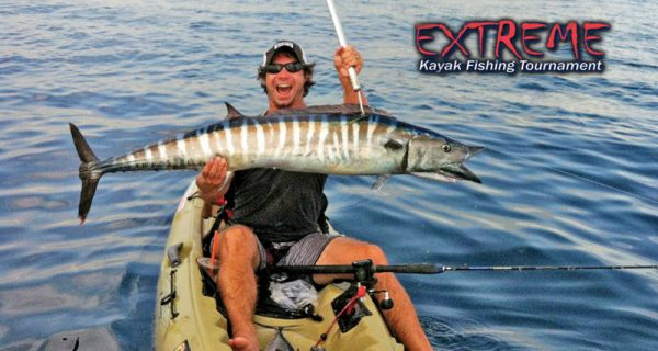 Joe Hector seduced his wahoo as the sun rose with a live gog straight out from the Pompano Pier.