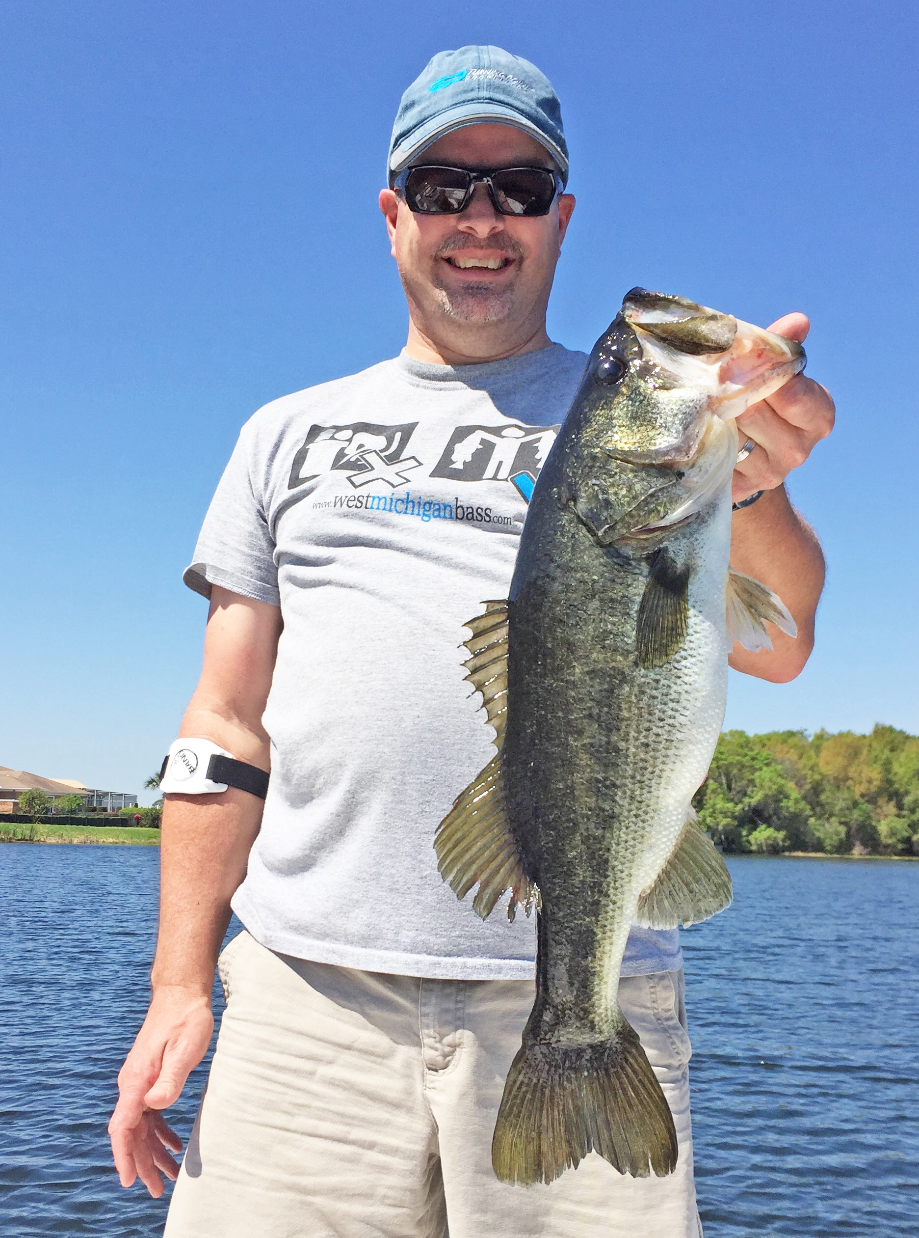 Lakeland central florida fishing report august 2017 for Bass fishing magazine