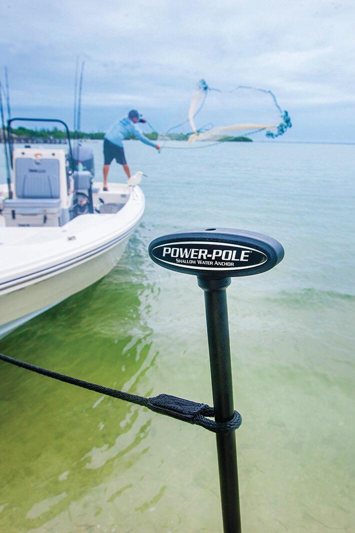 Power-Pole Introduces New Manual Spikes | Coastal Angler