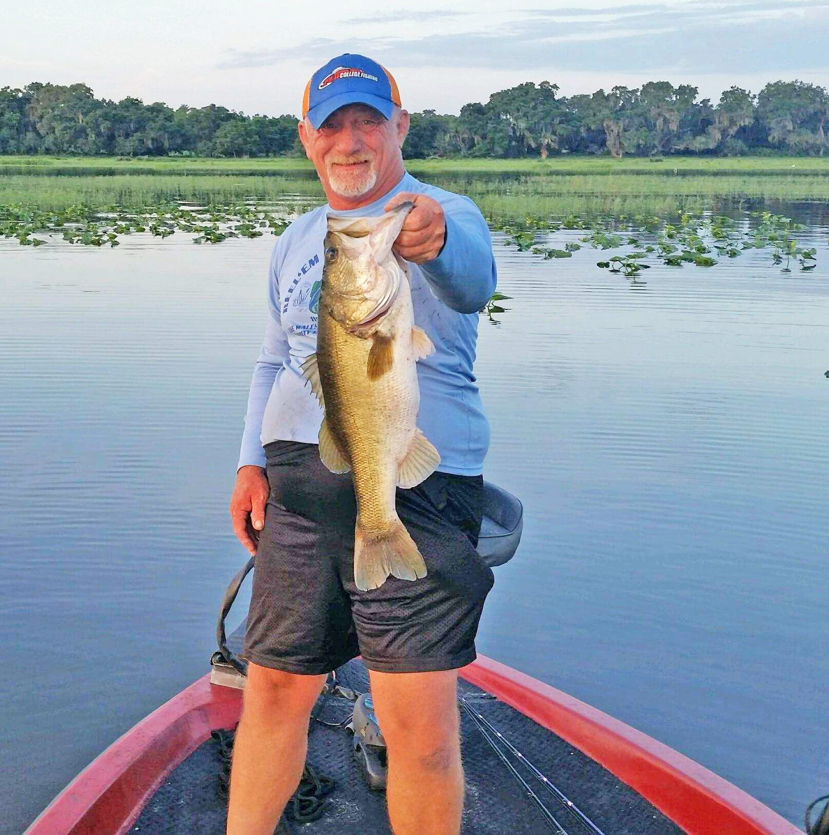 Kissimmee chain capt dave ochs 9 17 coastal angler for Lake kissimmee fishing report