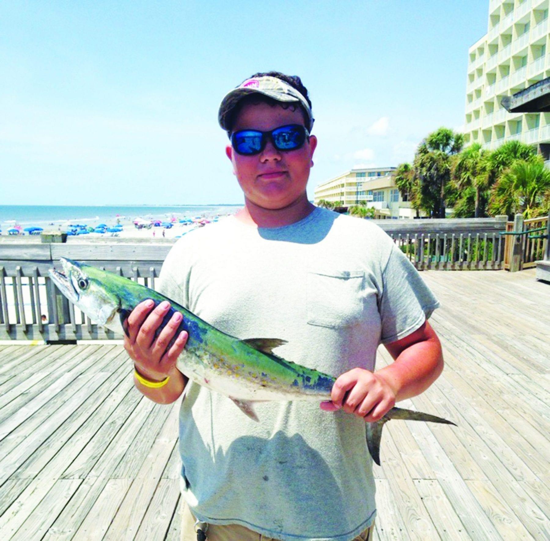 Folly Beach Fishing Pier October 2017 Fishing Forecast | Coastal