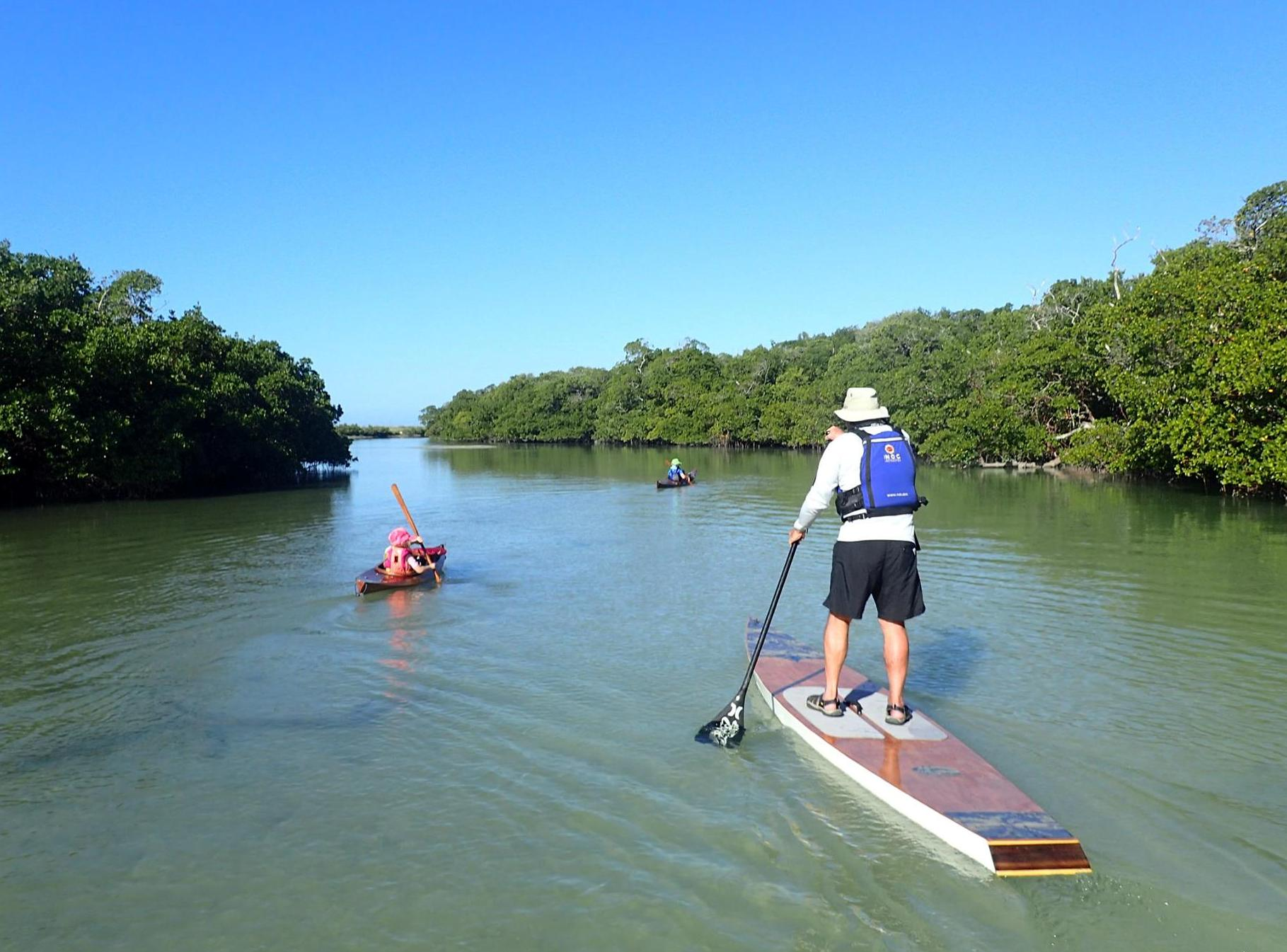 Big hickory island preserve coastal angler the angler magazine when i paddle here with my kids they like to go back and forth from fishing and cast netting in the backwater to snorkeling shelling swimming nvjuhfo Choice Image