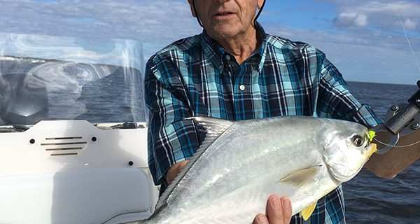 Pompano may be found in schools on some of the deeper flats and edges along the Banana River Lagoon this month.