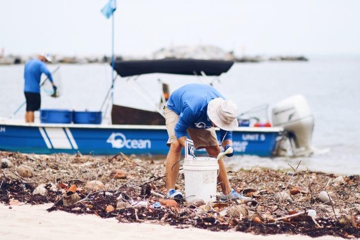 A Sea Of Debris Coastal Angler The Angler Magazine - 4ocean