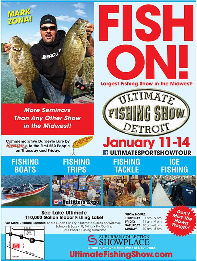 Discount coupons for ultimate fishing show