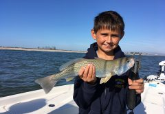 It a great time to grab your jacket and get those kids out there for some great fishing action this month. Bluefish, weakfish and others are biting right now.
