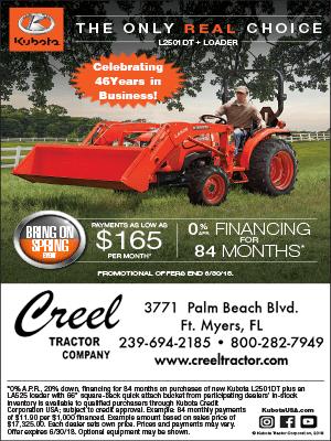 Creel Tractor