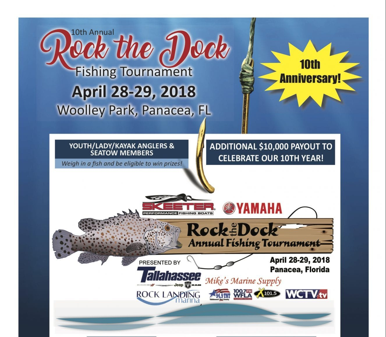 10th Annual Rock The Dock Fishing Tournament