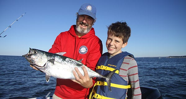 Be your own charter captain and follow the fish coastal for Ri fishing charters