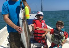 Cobia and Tripletail are high on the list of species anglers will be targeting this month outside of Port Canaveral.