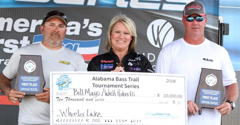 Bill Mayo & Walt Roberts took 1st Place in the Alabama Bass Trail Series, North Division