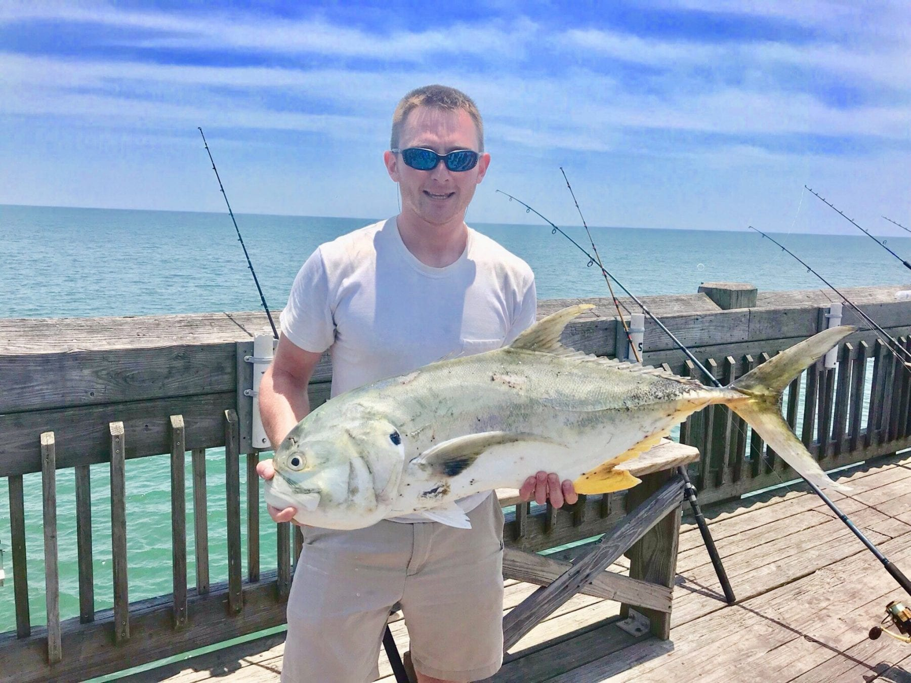Folly Beach Fishing Pier July Fishing Forecast | Coastal Angler
