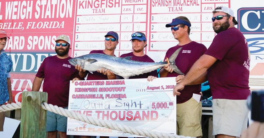 Georgia Team Wins Carabelle Kingfish Shootout