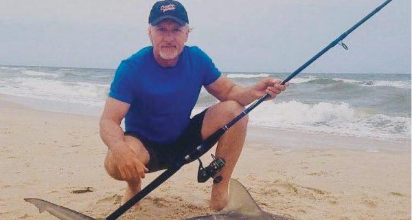 Shore-Based Shark Fishing