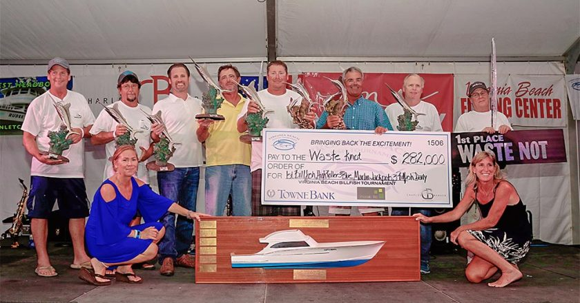 Virginia Beach Billfish Tournament winner Waste Knot