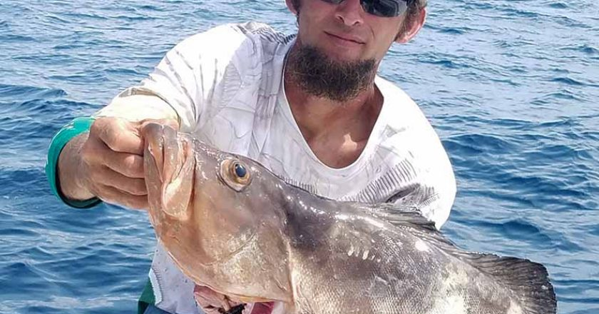 Fort Pierce offshore red grouper