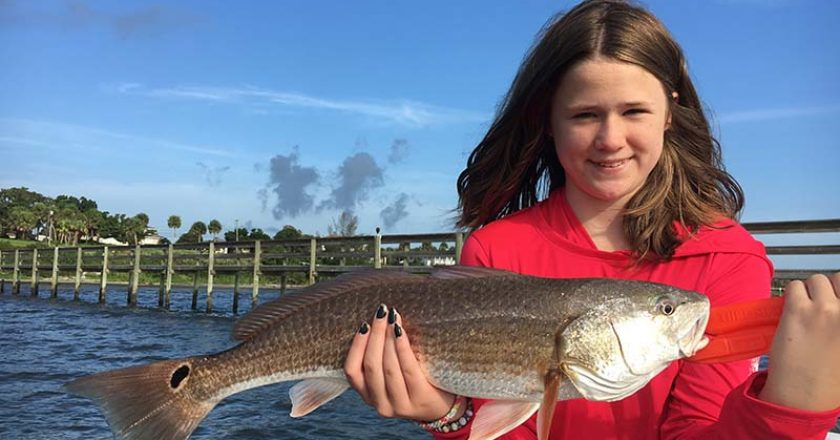 South Indian River redfish