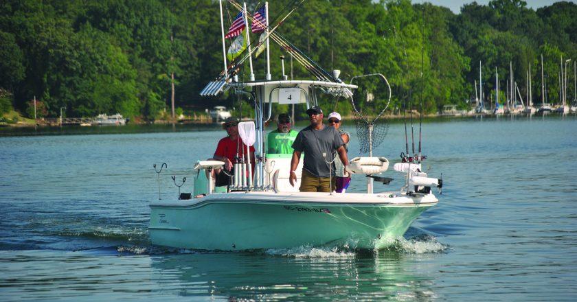 Columbia Angler September 2018: Troop Appreciation on Lake Murray