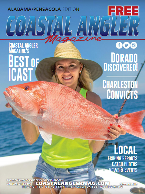 Coastal Angler Magazine Alabama/Pensacola September 2018
