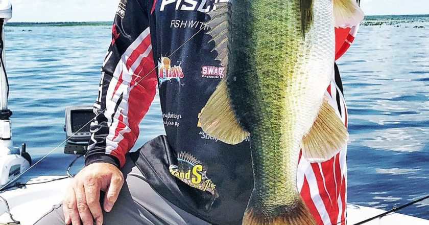 Jason Brenic, US Director of Sales & Marketing at Piscifun Fishing, on Lake Kissimmee