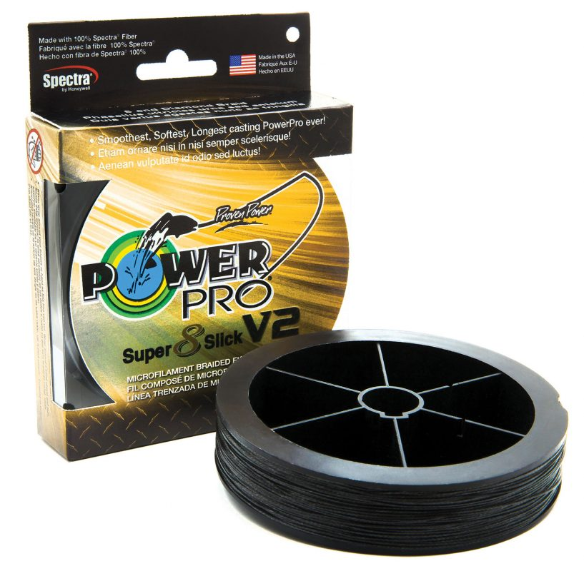PowerPro Super8Slick V2 Braided Fishing Line Best of ICAST2018