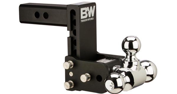 B&W Tow & Stow Adjustable Ball Mount