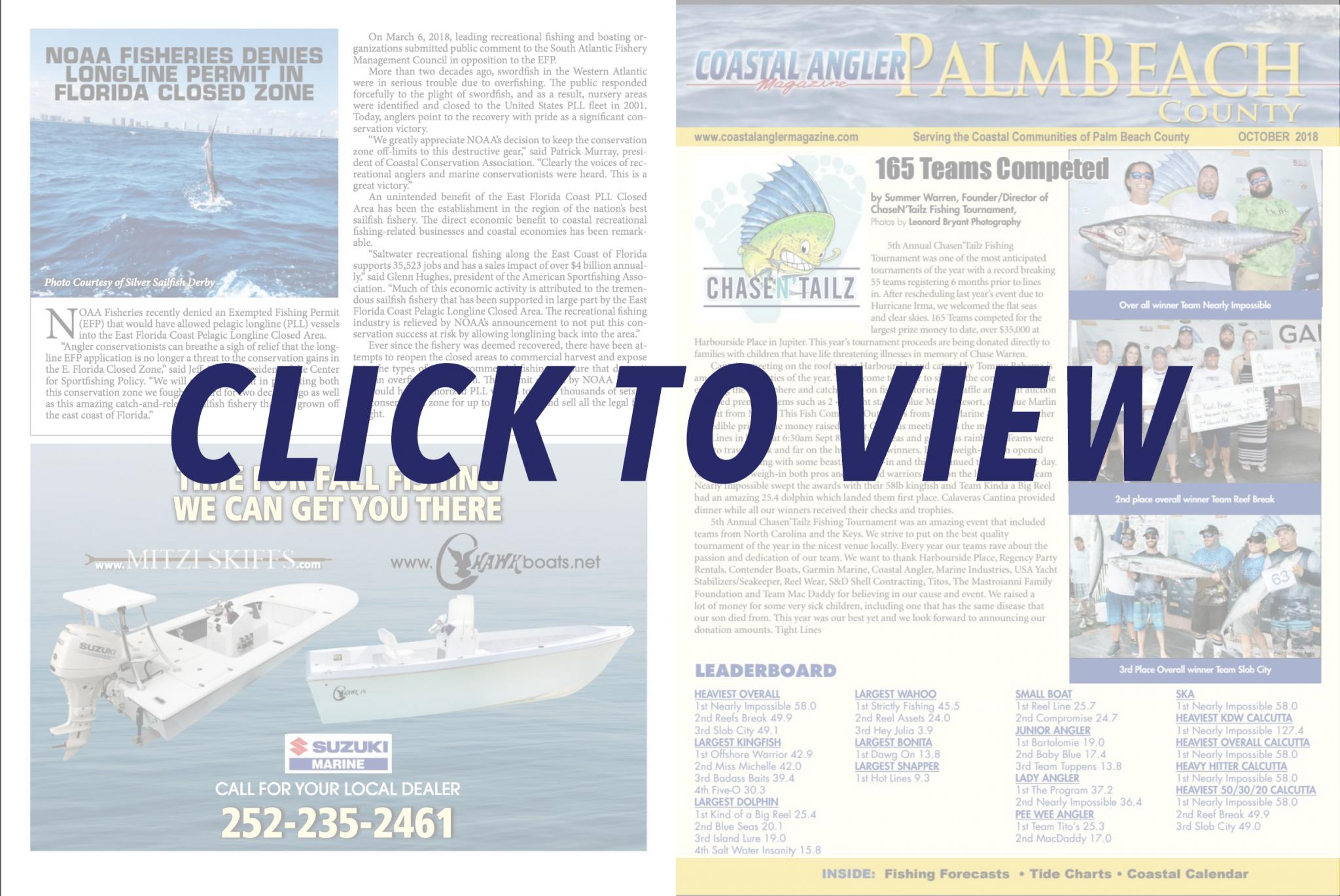 Coastal Angler Magazine Palm Beach Edition Coastal Angler The