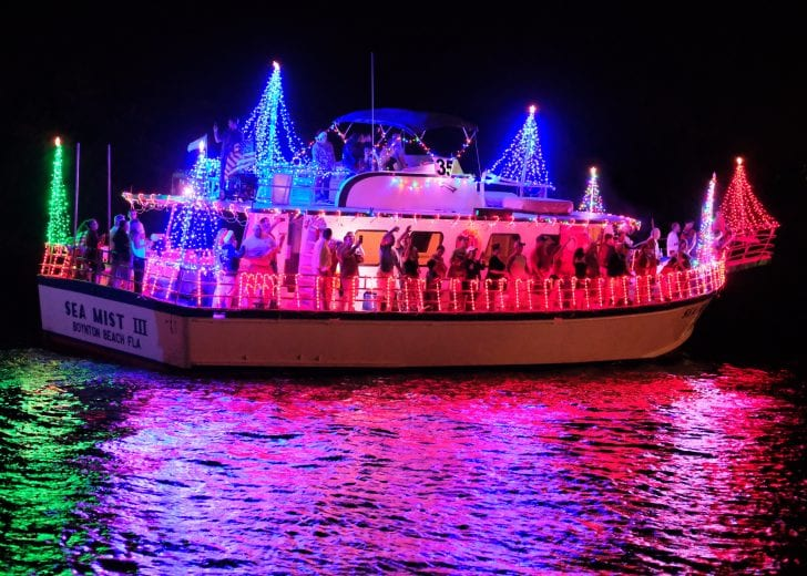 Fort Lauderdale Christmas Boat Parade.47th Annual Boynton Beach Holiday Boat Parade December