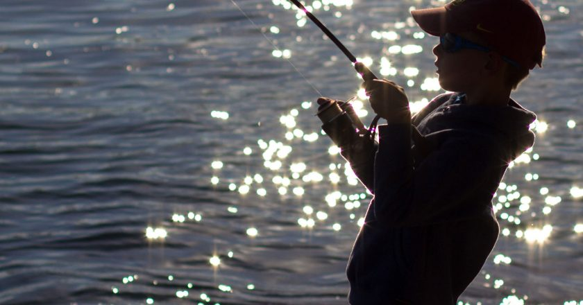 Using Fishing to Build a Happy, Healthy Family
