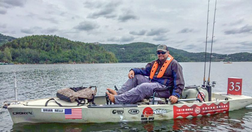 Coastal Angler Writer Places Top-10 In Chinese Kayak Fishing Tournament