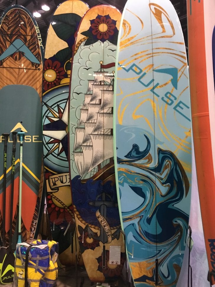 Boards boards boards. SURF EXPO 2019