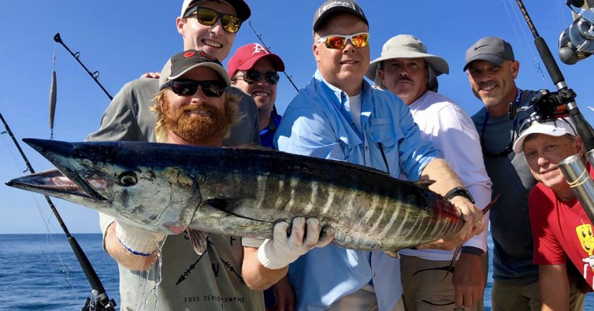 Fall family fishing in the Gulf of Mexico with Getaway Charters.