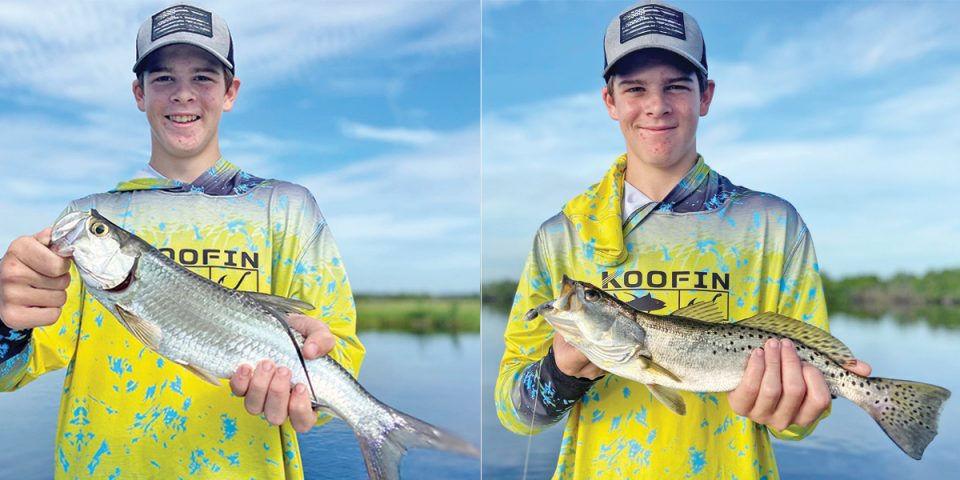 Multiple trout and multiple tarpon!